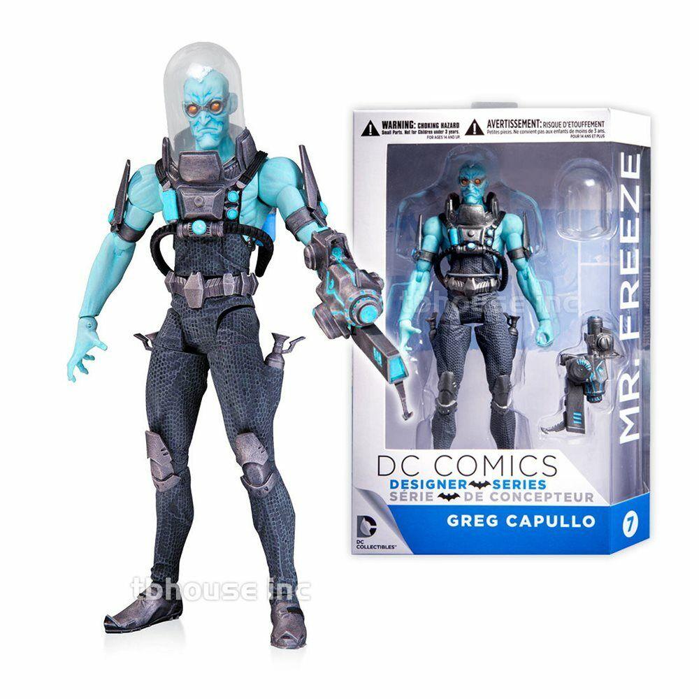 DC Designer Series Mr. Freeze Figure (Greg Capullo)