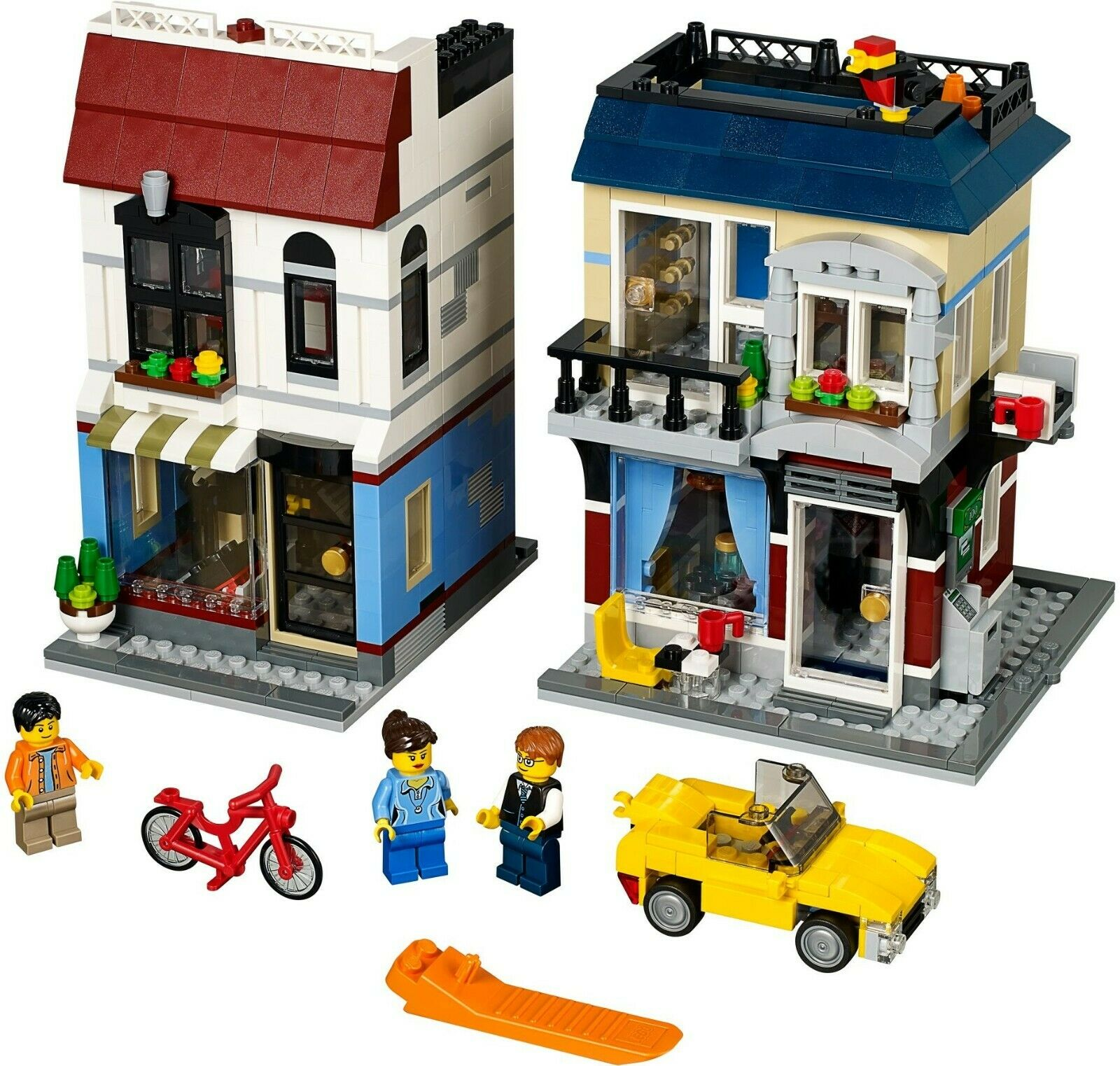 LEGO GENUINE Creator 31026 Bike Shop and Cafe RETIrot   BAGS BRAND NEW & SEALED