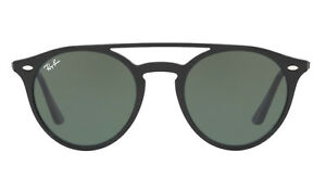 fb624b6111f Ray-Ban RB4279 Double Bridge Sunglasses (Black Green Classic G-15 ...