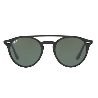 Ray-Ban RB4279 Double Bridge Sunglasses (Black/Green Classic G-15)
