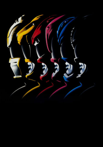 Power Rangers Large Movie Poster A0 A1 A2 A3 A4 Sizes