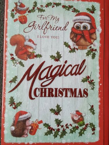 CHRISTMAS CARD FOR MY GIRLFRIEND I LOVE YOU
