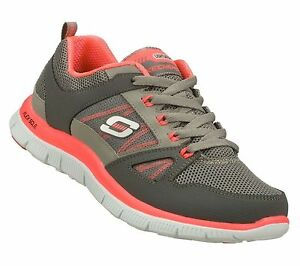 11727 CCHP CHARCOAL HOT PINK SKECHERS