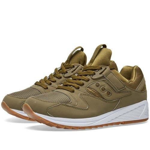 SAUCONY GRID 8500 OLIVE OLIVE OLIVE BNWT 6d317c