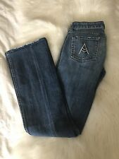 7 Seven For All Mankind A POCKET Medium Wash Flare Jeans 26
