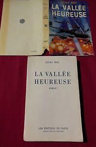 LA-VALLEE-HEUREUSE-Jules-ROY-Les-Editions-de-PARIS-1950