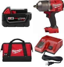 "Milwaukee 2767-20 FUEL 1/2"" Impact Kit w/Friction Ring & BATTERY & CHARGER & BAG"