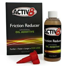 125ml ACTIV8 Oil Additive for Engine & Gearbox (wet or dry clutch) - 2/4-Stroke