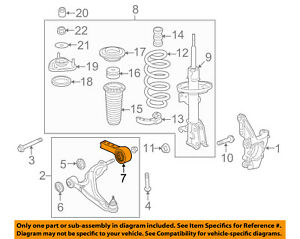 image is loading honda-oem-pilot-front-suspension-lower-control-arm-