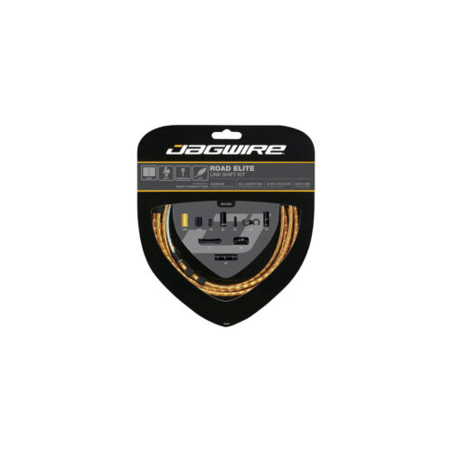 Jagwire Road Elite Link Shift Cable Kit Ultra-Slick SRAM//Shimano Gold
