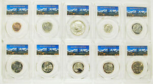 2017-S-10-COIN-SET-FIRST-DAY-DENVER-ANA-OF-ISSUE-PCGS-SP70-ENHANCED-UNC