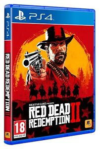 Red Dead Redemption 2 inc DLC PS4 In Stock Now