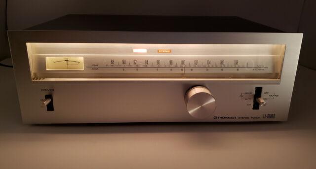 Vintage Original Pioneer AM/FM Stereo Tuner tx-6500 II Working getestet