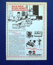 A741-Advertising Pubblicità-1964-TECNICI SCUOLA RADIO ELETTRA