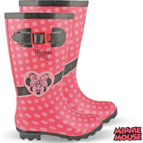 Gummistiefel Regenstiefel Minnie Disney Mouse Hoch Kinder Regenboots Stiefel NEU