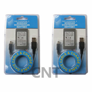 2PK-Replacement-Battery-Cable-For-sony-PS3-Controller-Dual-Shock-3-For-Sixaxis