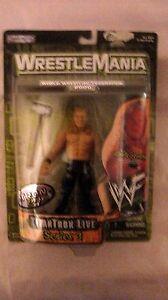 WWF-WrestleMania-2000-TitanTron-Live-Series-3-Chris-Jericho-Jakks-1999-NEW-t761