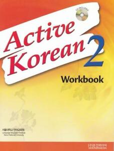 Details about NEW Active Korean 2 Workbook / Korean Language Book Hangul  Study / with Audio CD