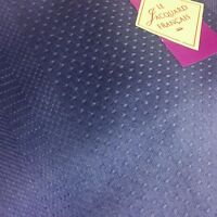 Le Jacquard Francais Primrose Bordier Vis-a-vis Denim Purple Table Runner 19x59