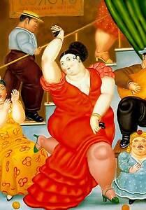 11 cm 35x50  Affiche Cartel Kunstplakat papiarte Poster Botero cod
