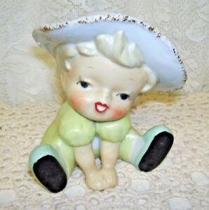 Adorable-Vintage-Little-Girl-Headvase-Marked-Japan