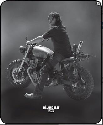 NORMAN REEDUS Daryl Dixon Mad Max Walking Dead Dakimakura Full Body Pillow case