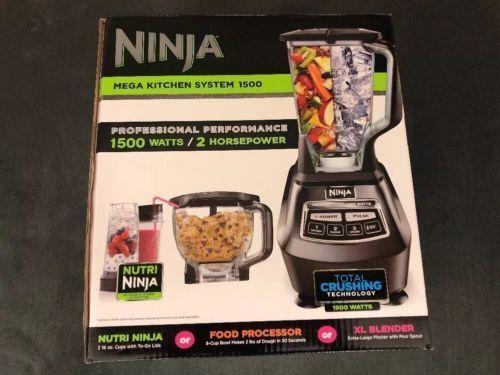 ninja mega kitchen system bl770 1500 watts for sale online ebay rh ebay com