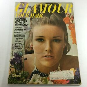 VTG Glamour Magazine: July 1966 - Hair Fall Forecast Issue Model Lisa Palmer