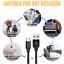 miniature 9 - 5X Wholesale Bulk USB Type C Cable 10 Ft Lot For Samsung S10 S20 S8 LG Data Cord