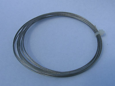Scale steel winch rope for RC4WD Warn 9.5CTI or 3Racing tow line wire cable RC