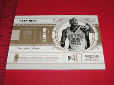 2010-11 NATIONAL TREASURES Glen RICE #181 SP/99 Michigan WOLVERINES - NY Knicks