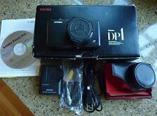 Sigma DP1 14 MP Digital Camera with case. APC Foveon sensor. Wide-angle lens