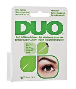 DUO-BRUSH-ON-Striplash-Adhesive-Eyelash-Glue-White-Clear