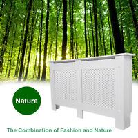 White Paint Radiator Cover Cabinet Shelf MDF Wood Medium Extra Large Adjustable