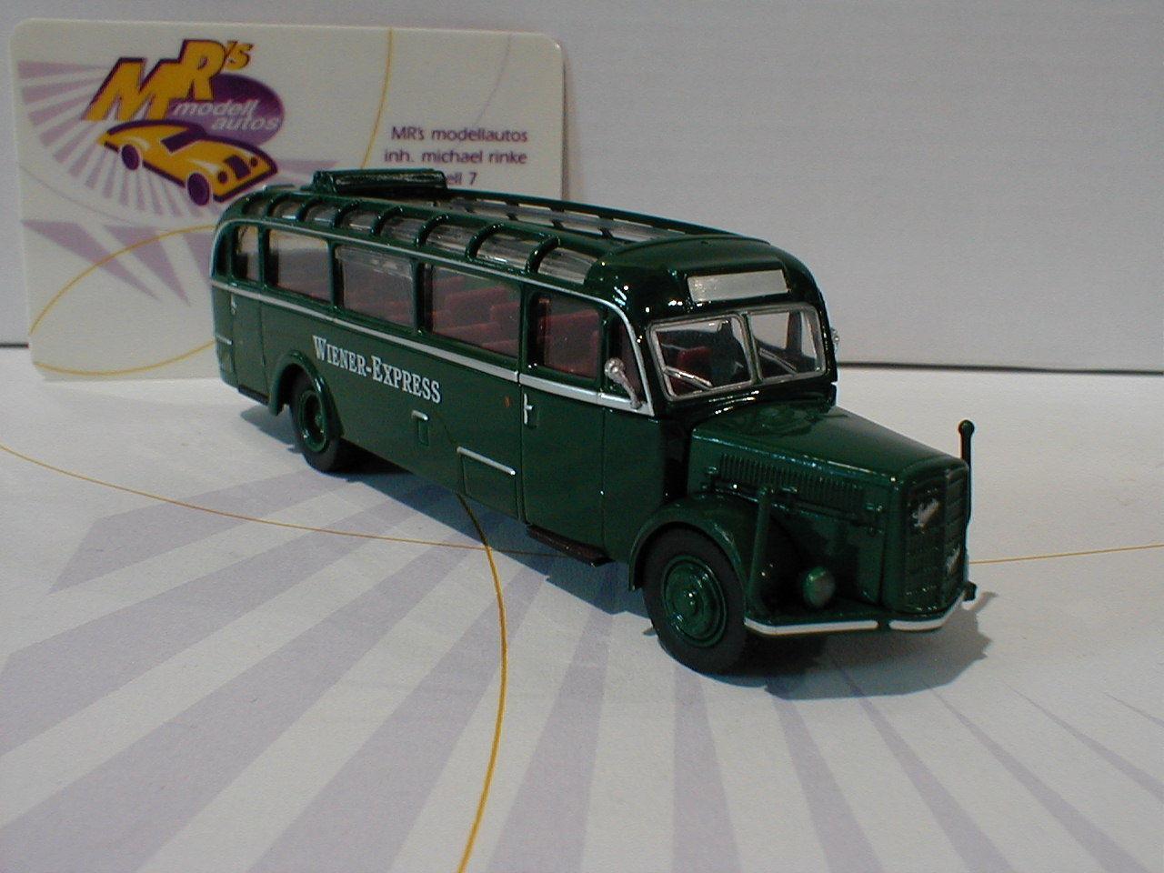 Brekina starline 58075   acide BT BT BT 4500 année modèle 1949  de vienne Express  vert 1 87 103c91