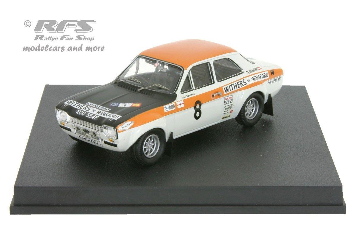 Ford escort rs 1600 Mk I-rallye Ecosse 1971-sclater - 1 43 trofeu 0550