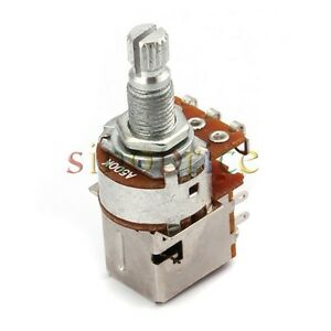 3pcs a500k coil tap push pull guitar potentiometer switch pot ebay. Black Bedroom Furniture Sets. Home Design Ideas