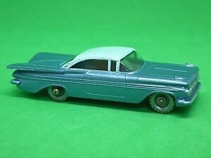 Matchbox-Lesney-No-57b-Chevrolet-Impala-base-azul-oscuro
