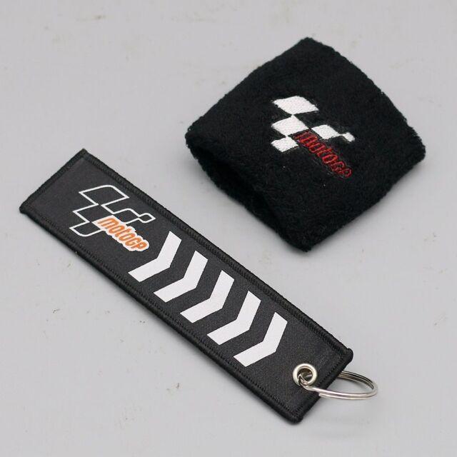 Moto GP Brake Reservoir Shroud Cover Protector Sock Yellow with Black MotoGP