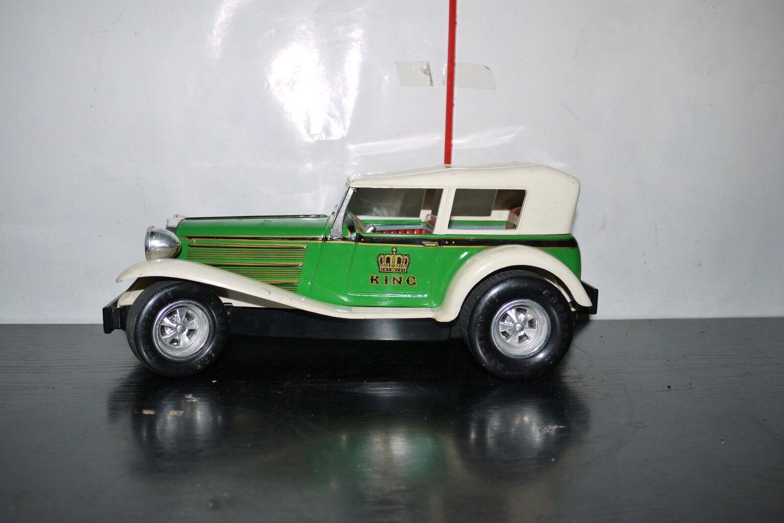 VINTAGE Taiyo E.C:U.S.A Car 1931 Speed Series 1:18 Tin Car E.C:U.S.A 1c0b44