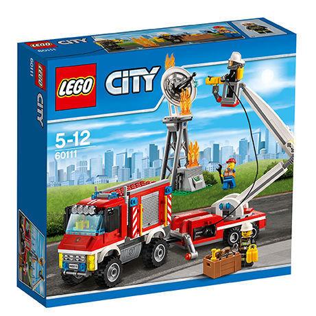 LEGO City Feuerwehr-Einsatzfahrzeug - 60111   NEU und OVP