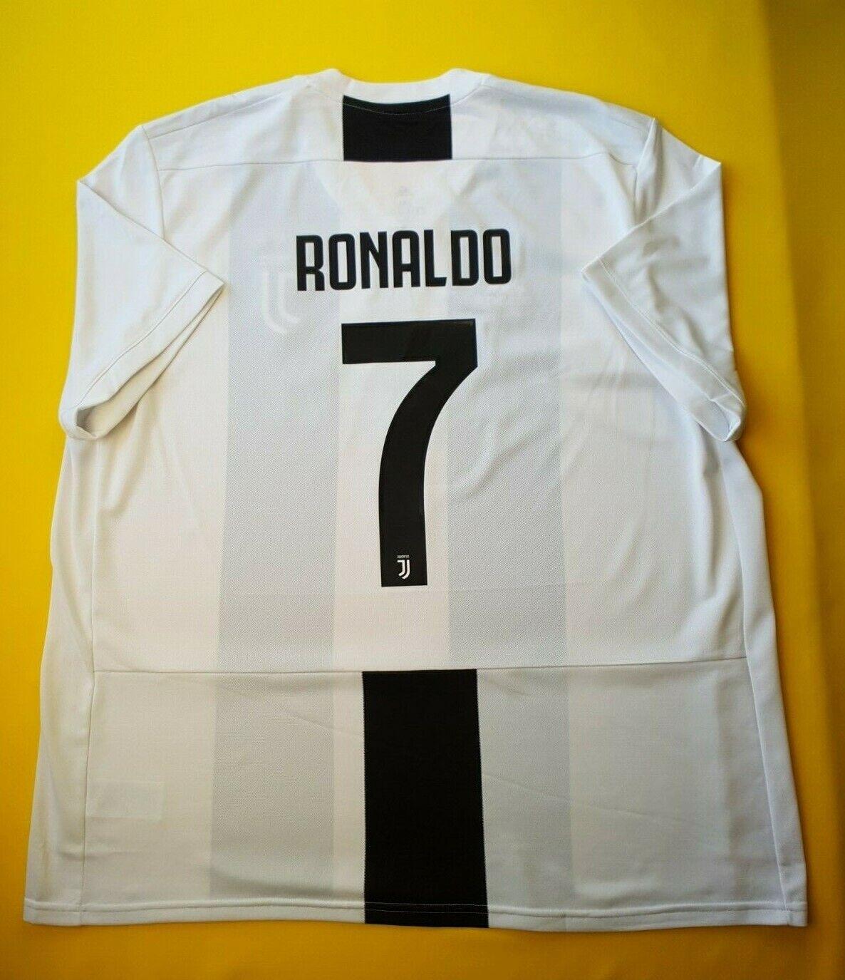 5+ 5 Ronaldo Juventus Jersey Camisa Hogar 2XL 2019 CF3489 De Fútbol Adidas ig93