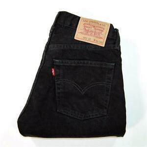 595 Taille Zip 30 Levis Homme 32 Black X Fly Jeans Wash S6fqUnF
