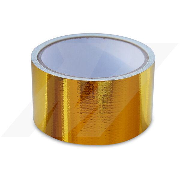"Mishimoto Gold Heat Defence Reflective Tape - 2"" x 15ft"