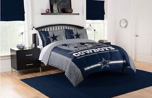 Best-Dallas-Cowboys-Bedding-NFL-Licensed-3PC-Comforter-Set-Pillowcases-Twin-Size