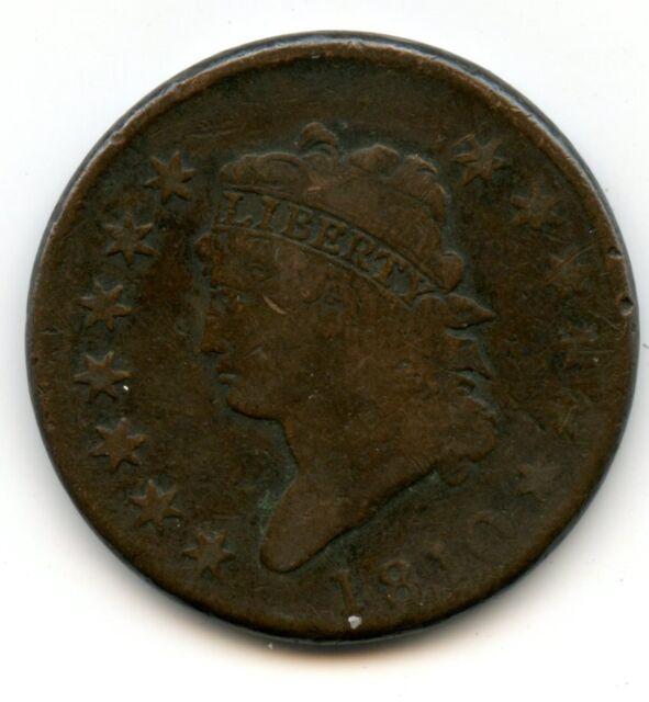 monnaie ancienne ETATS UNIS 1810