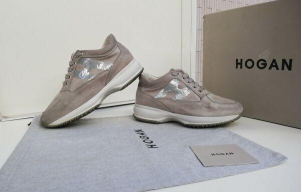 Hogan shoes n.36, 5 Original, Interactive, Donna, Beige, Made in ...