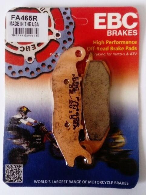Derbi Terra 125 (2007 to 2014) EBC Sintered Series FRONT Brake Pads FA465R