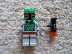 LEGO-Star-Wars-Rare-Classic-Bounty-Hunter-Boba-Fett-w-Blaster-Excellent