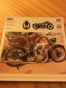 Ariel-600-type-4F-Square-oven-1932-Card-motorrad-Collection-Atlas